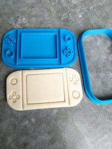 Gaming Controller Cookie Cutter or Fondant Stamp Playstation XBOX Nintendo Switch