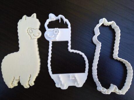 Llama Cookie Fondant Embosser and Cutter