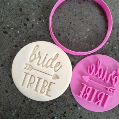 Bride Tribe Cookie Fondant Stamp & Cutters for Hens Party / Hens Day / Bachelorette
