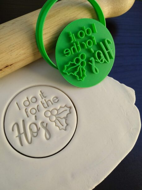 I do it for the Ho's Christmas Xmas Cookie Fondant Embosser Stamp & Cutter