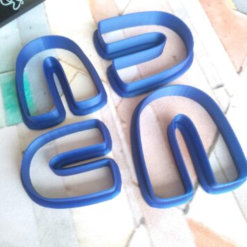 Arch Shape Polymer Clay Cutters