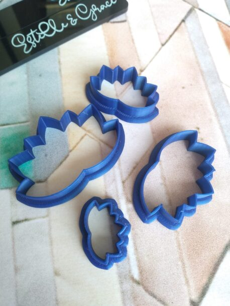 Lotus Fan Polymer Clay Cutters