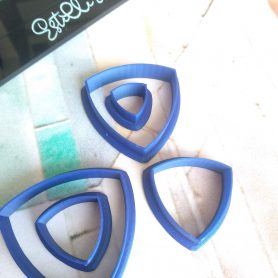 Reuleaux Triangle Polymer Clay Cutters