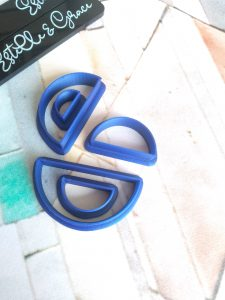 Half Circle Polymer Clay Cutters