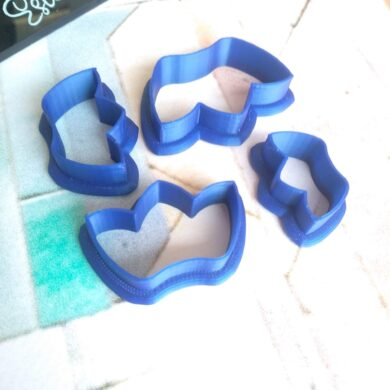 Three Pointed Crown Polymer Clay Cutters