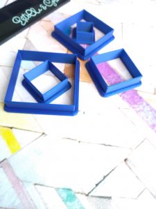Square Polymer Clay Cutters