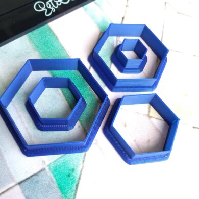 Hexagon Polymer Clay Cutters