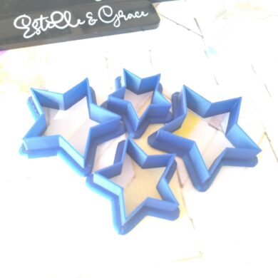 Star Polymer Clay Cutters