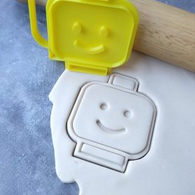 Inspired by LEGO Cookie Fondant Stamp / Cutter