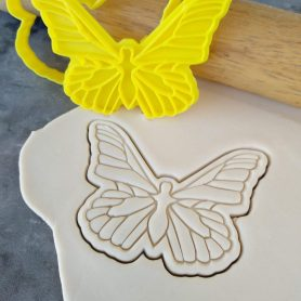 Butterfly Cookie Fondant Embosser Stamp and Cutter