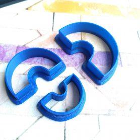 Rainbow (Style 1) Polymer Clay Cutters