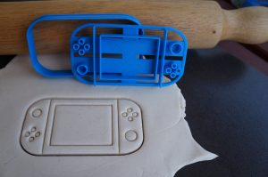 nintendo switch fondant cookie embosser cutter