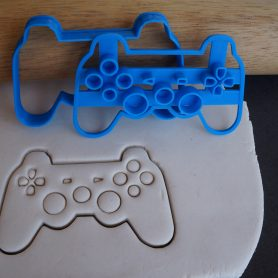Playstation fondant cookie embosser cutter