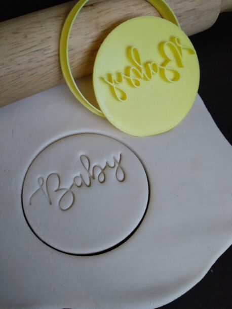 Baby Cookie Fondant Embosser Stamp and Cutter