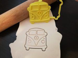 VW Kombi Camervan Camper Cookie Cutter / Fondant Embosser Stamp
