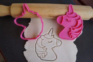 unicorn cookie cutter fondantembosser