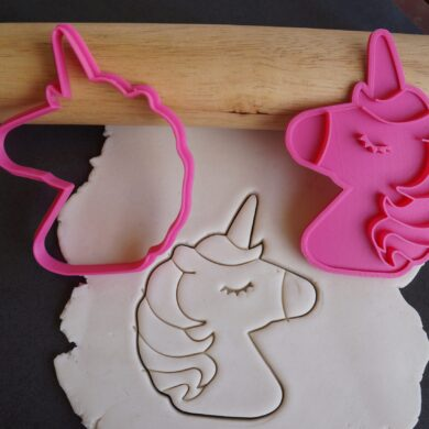 unicorn cookie cutter fondantembosser