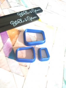 Irregular Rectangle Polymer Clay Cutters