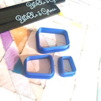 Irregular Rectangle Polymer Clay Cutters