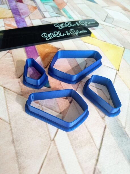 Dracs / Coffin Shape Polymer Clay Cutters