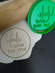 yoda one for me Cookie Fondant Stamp Embosser and Cutter