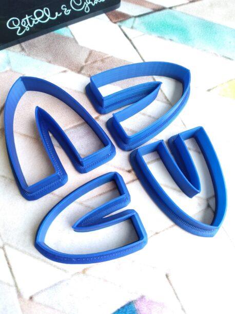 Gothic Arch Polymer Clay Cutters