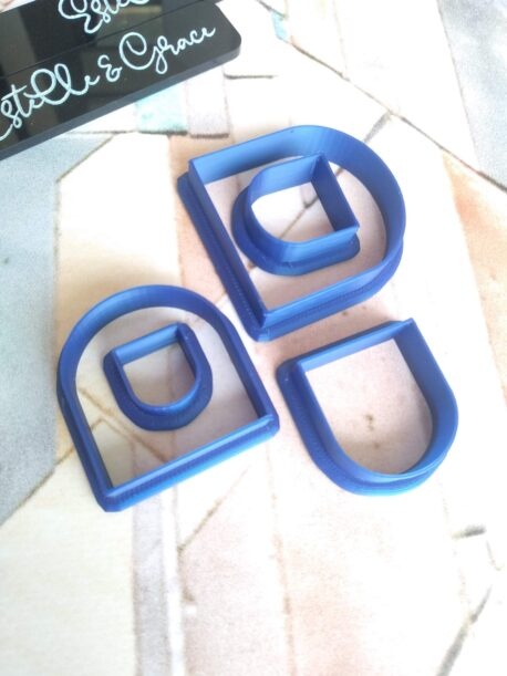 Solid Arch Polymer Clay Cutters
