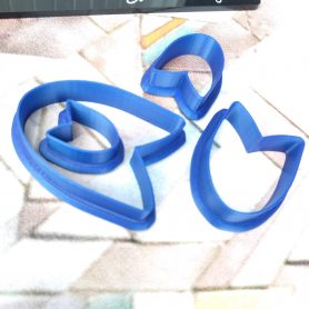 Set of 4 Arrowhead / Spear Polymer Clay Cutters