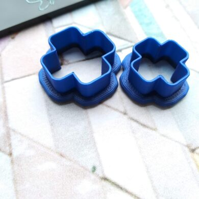 Rounded Cross Polymer Clay Cutter