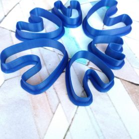 Organic U Shaped Polymer Clay Cutter