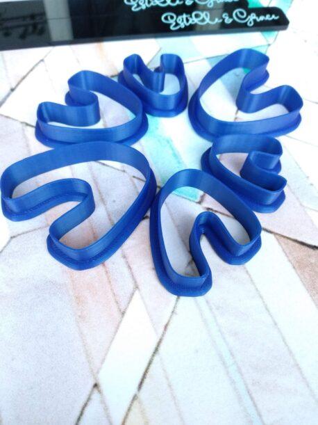 Organic U Shaped Polymer Clay Cutter