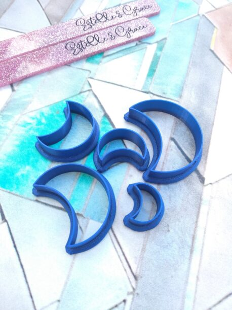 Crescent Moon Polymer Clay Shape Cutter