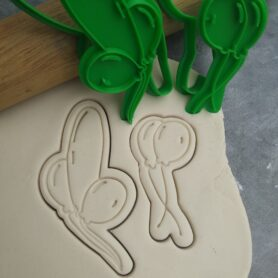 Balloons with String Cookie Shape Cutters Cookie Fondant Embosser Imprint Stamp and Cookie Cutter
