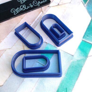 Long Skinny Arch Polymer Clay Shape Cutter