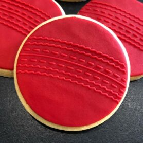 Cricket Ball Fondant Cookie Stamp with Raised Detail debosser pop stamp raised stamp