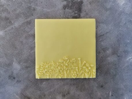 Wildflower Fondant Cookie Stamp with Raised Detail