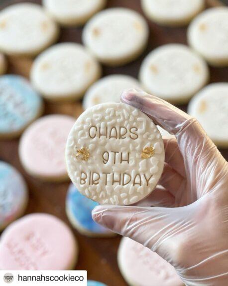 Alphabet Cookie Fondant Embosser Stamp Set (including 3 of each Letter & Number, 2 Stamp Holders)