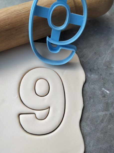 Number 9 Cookie Cutter