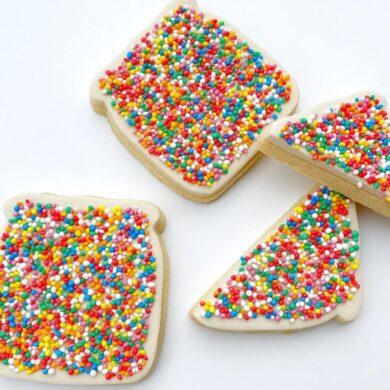 Bread Slice / Half Bread Slice Cookie Cutter Set - Fairy Bread Shape Cutter - Toast Cookie Cutter